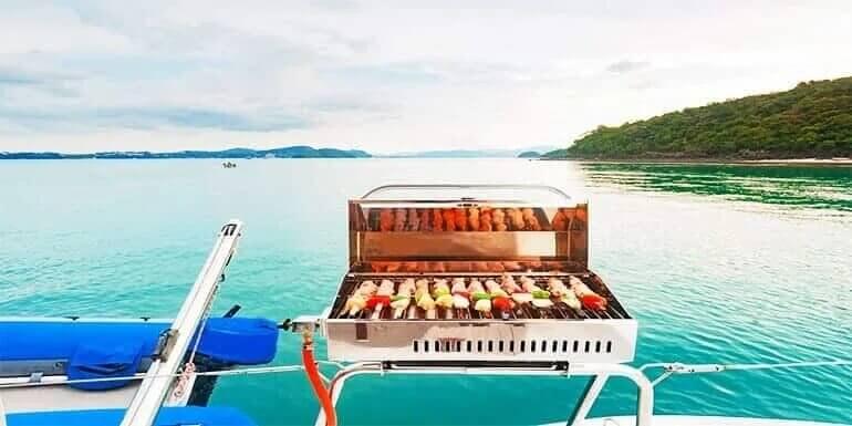 Best Pontoon Boat Grill